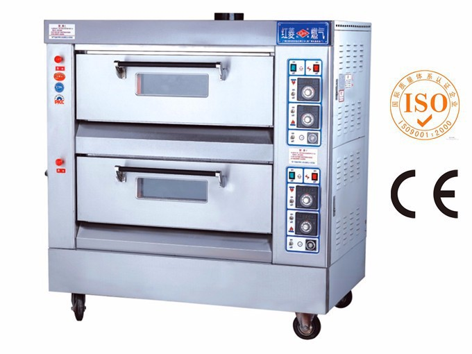 2 Deck 4 Trays Cake Baking Gas Oven Price Of Product On Alibaba