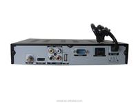 shenzhen manufacture price wholesale DVB-S2 MPEG-4 HD twin tuner hd 4k satellite receiver