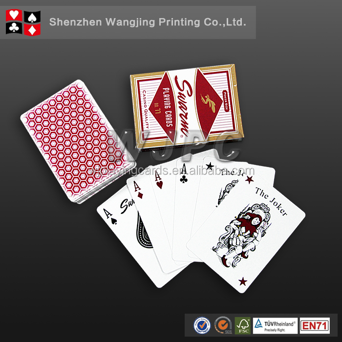 2016 new promotional products novelty item playing cards