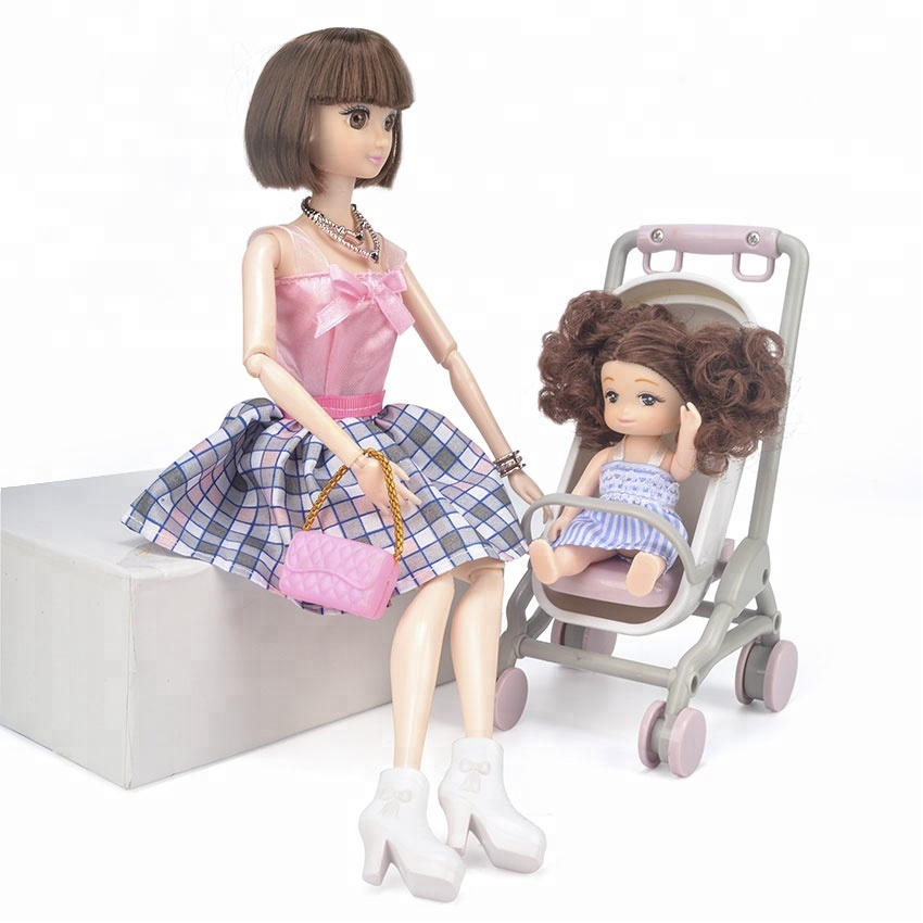 Lofea high quality soft plastic 3D jointed girl <strong>doll</strong> 4