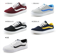 New Casual Shoes With Flat Sole/canvas School shoes for men
