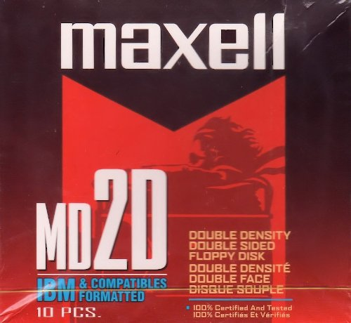 Maxell 5.25 Floppy Disk (10-Pack) (Discontinued by Manufacturer)