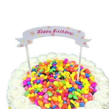 Birthday Cake Pastry Topper Bakery Item Decorations Buy Cake Topper Birthday Decoration Items Famous Cake Decorators Product On Alibaba Com