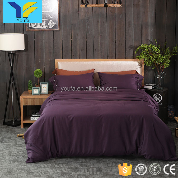 Custom wholesale king size 4pcs 100% cotton home bedding comforter sets luxury bedsheets bedding set