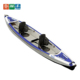 Cheap double seats drop stitch inflatable kayak 2 persons for sale