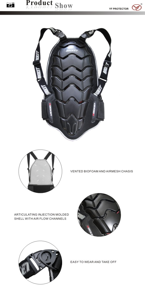 Sports Back Protector/Motorcycle/Motorbike Racing Back Protector