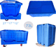 factory direct sale nestable storage plastic crate