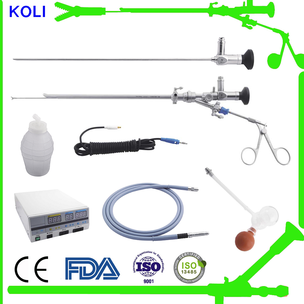 Koli surgical urology instruments compatible with Storz