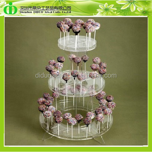 DDF-0004 Wholesale Plexiglass Lollipop Cake Pop Display Stand