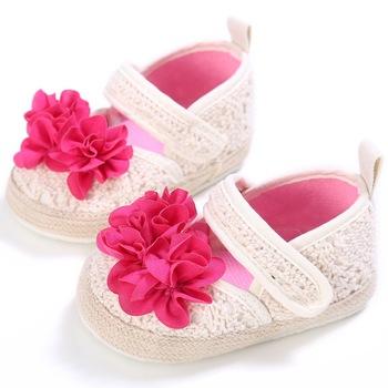 Mädchen Phantasie Mädchen Kleid Schuhe Günstige Weiche Blume Häkeln