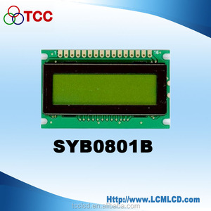 Industrial display 8x1 lcd character dots screen S6A0069 controller 8*1 lcd module