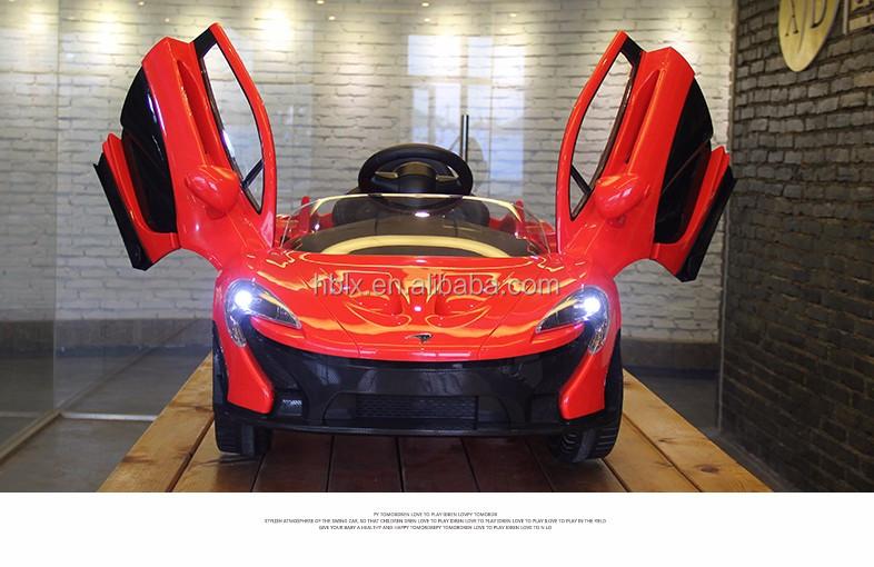 Mclaren P1 Bambini Auto Elettrica Alimentato A Batteria Giro Sul Giocattolo Rc Rosso Buy Mclaren Kids Auto,Bambini Ride On Car Product on