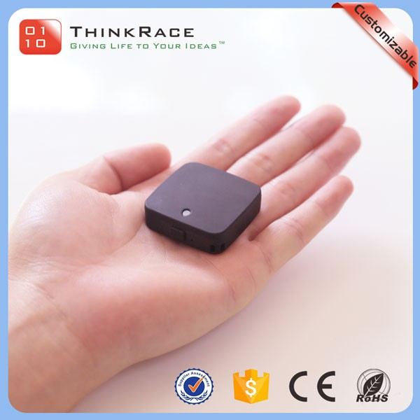 Magnetic charging mini battery operated personal gps tracking