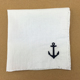 Cotton Material Personalized Handkerchief Hand Embroidered Handkerchief