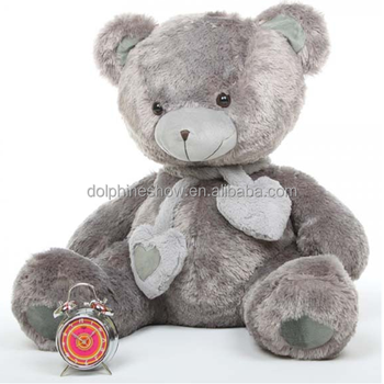 22319e380920 Fashion Home Decor Giant Big Plush Grey Teddy Bear Wholesale Cute Kids  Stuffed Soft Toy Plush