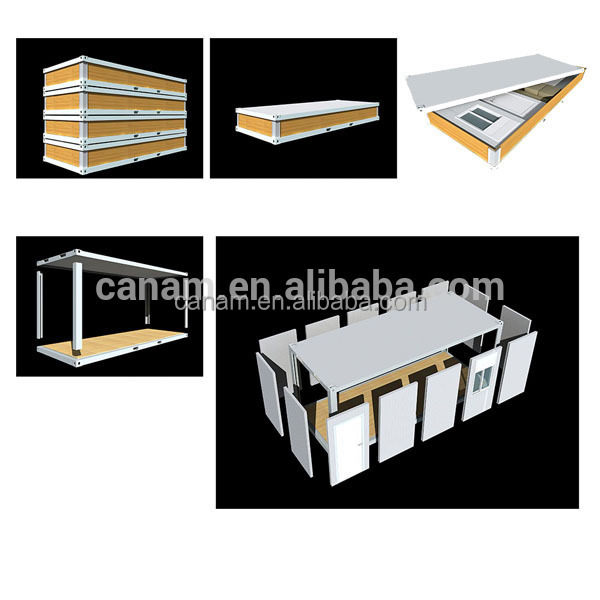CANAM- shipping container factory floor plan