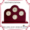 indoor multifunction weather station YG1610 with wood base