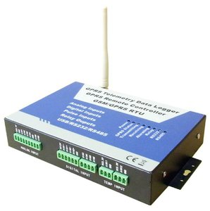 GPRS telemetre data Logger RTU S220 modbus with RS 485 pulse/analog/digital inputs used for machine to machine