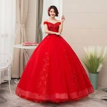 Женское свадебное платье It's YiiYa,открытыми плечами на завязках на лето 2019(China)
