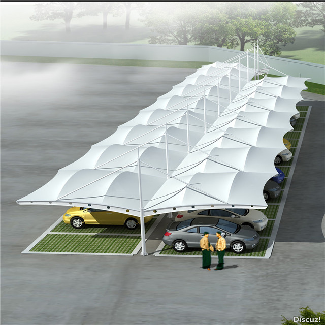 Tensile Membrane Structure Car Parking Shed Roofing Design Buy
