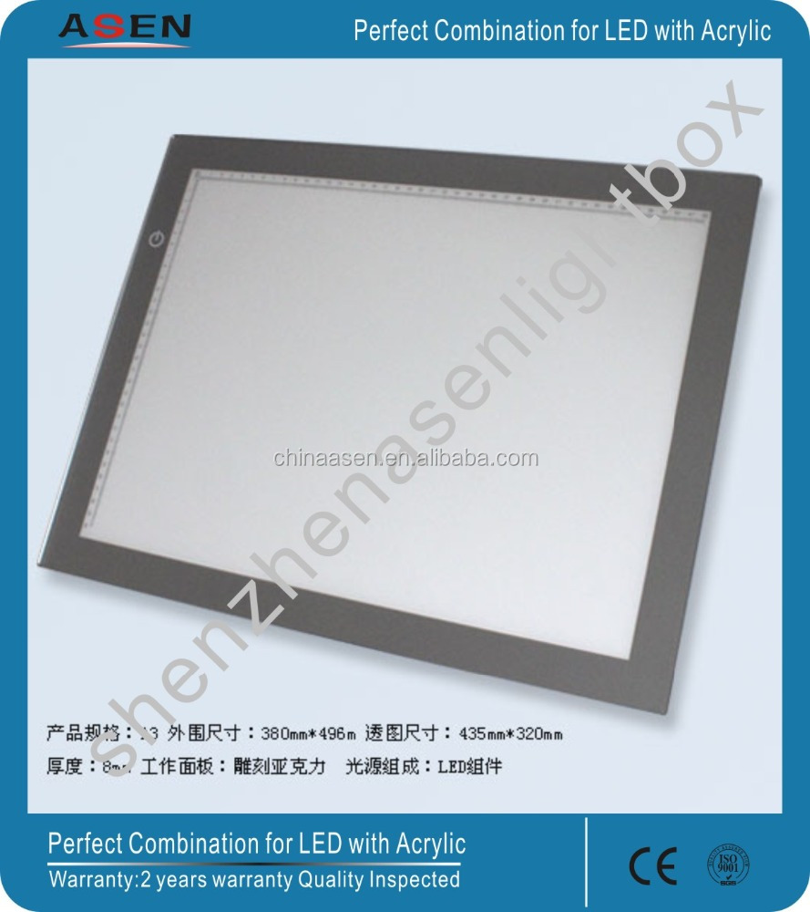 Illuminated LED Tracking board A3