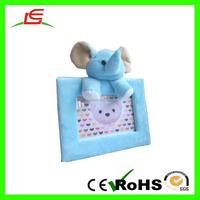 ICTI Wholesale Super Soft Baby Plush Animal Photo Frame For Loading Photos