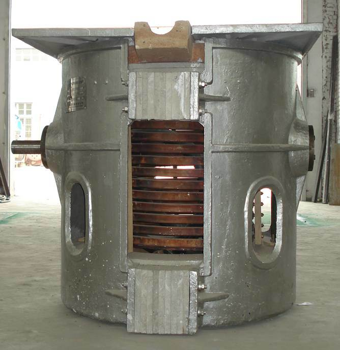 Melting Metal Furnace Metal Foundry Smelting Furnace Metal Burner Metal Melter Crucible Furnace