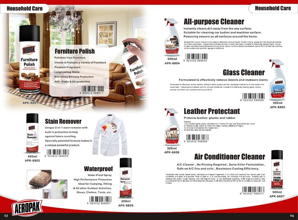 Aeropak Hot sale Household Aerosol For Home Care Cleaner