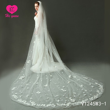 V1245W3-1 Elegant bridal veil  Wholesale Wedding Accessory Veil For Brides Wedding Accessories Bridal Veil