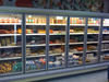 Dairy and vegetable display cooler glass door for commercial supermarket walk in cooler chiller