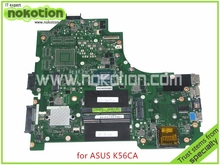 69N0NGM13B04 For ASUS K56CA K56CM Laptop Motherboard REV 2.0 I3-3217U HM77 HD4000 graphics Mainboard full tested