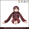 Promotion gift toy with long arm plush monkey names