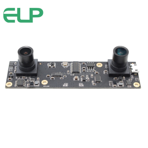 ELP Plug Play USB2.0 OTG Camera Module Full HD 1080P 30fps CMOS Machine Vision 3D VR Camera With Dual Lens VR