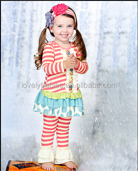 Persnickety Childrenu0027s Valentines Outfit Girls Valentine Ruffle Outfit