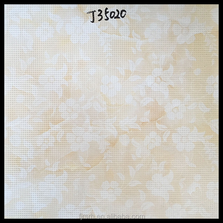 Hot Sale light yellow flower waterjet marble tiles design floor pattern