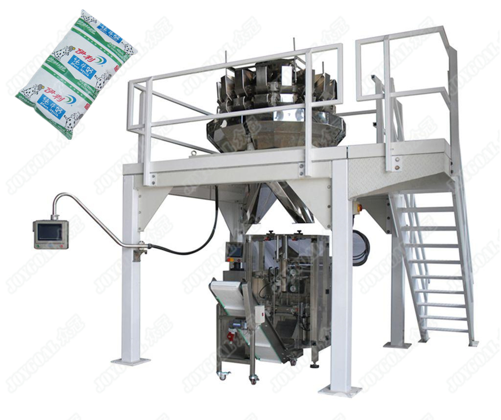 Powder packing machine is divided into automatic powder back sealing packing machine