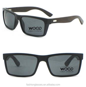 Stylish Rectangle Frame Custom Polarized Wood Bamboo Plastic ...