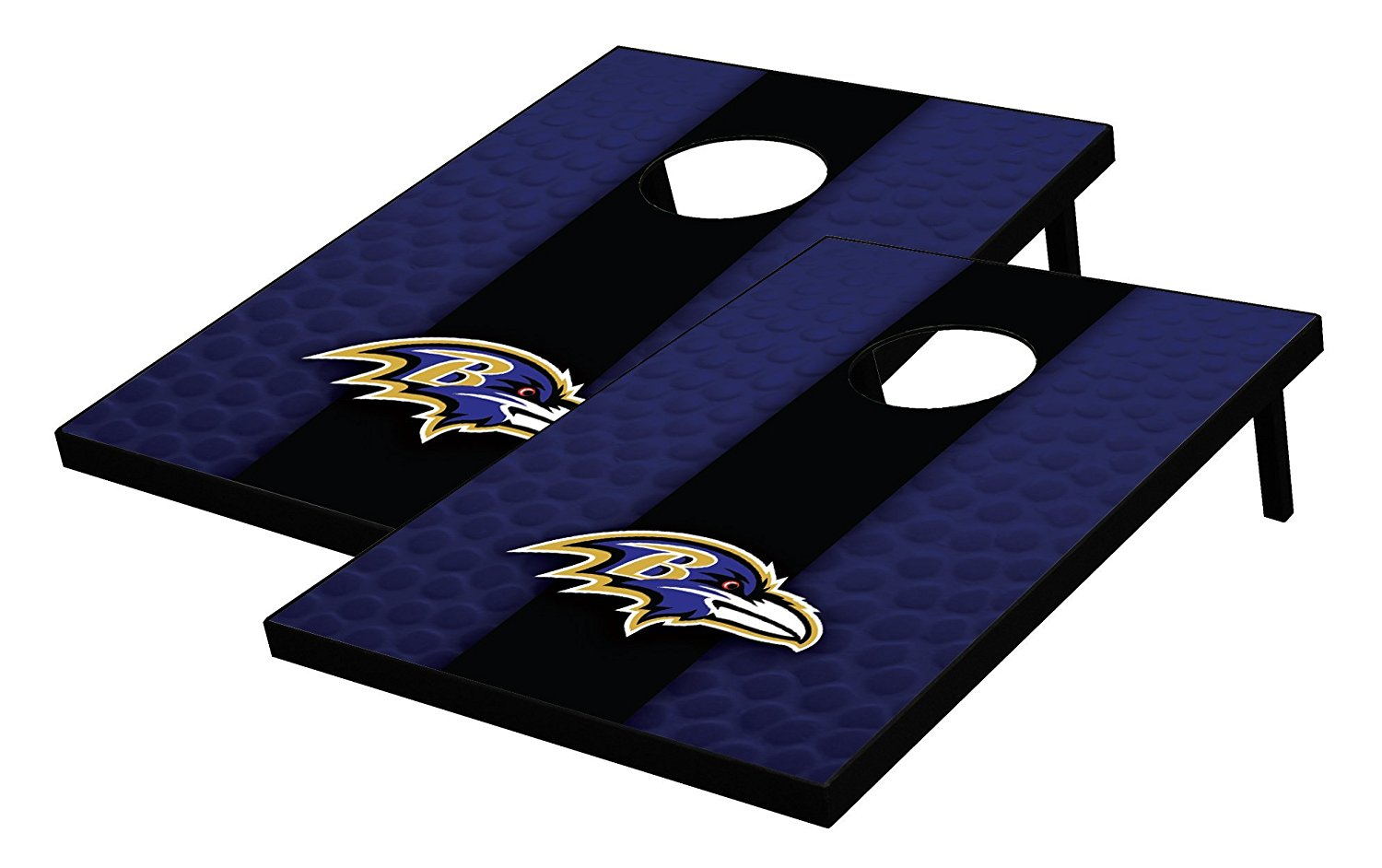 NFL Baltimore Ravens Tailgate Toss Bean Bag Game Set, Multicolor, One Size