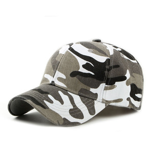 Breathable Comfort Resistant Corps Hat Camo Baseball Cap With Unisex Outdoor