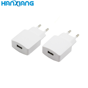 Classic item flat wall usb charger 5V1A 1usb port usb stick mobile phone charger adapter for EU 2-prong plug