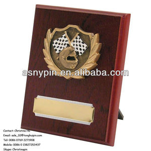 wooden awards trophy wall plate, wooden plaque, wooden trophies,