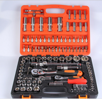 "1/2""&1/4""Dr.108PCS SOCKET SET &TOOL KIT 108 pcs socket wrench set"