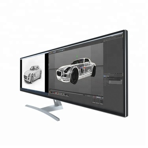 "44"" Ultra wide 32:9 UHD 4k big wide flat screen lcd monitor"