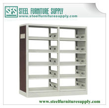 school library metal bookshelf/heavy duty adjustable library shelf