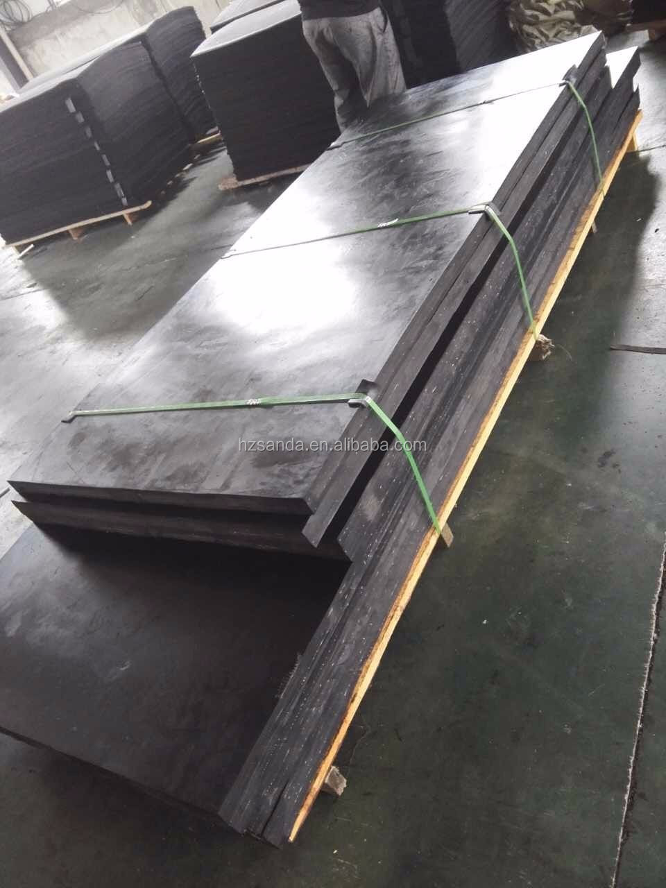 50mm Thick Rubber Plate Rubber Slab Sbr Nbr Epdm Rubber