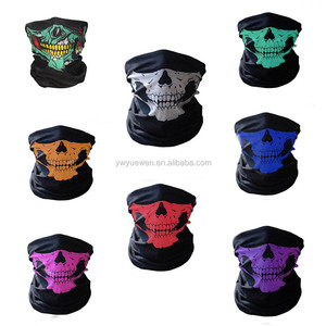 High quality knitted seamless magic scarf fashion cycling face mask skull scarf