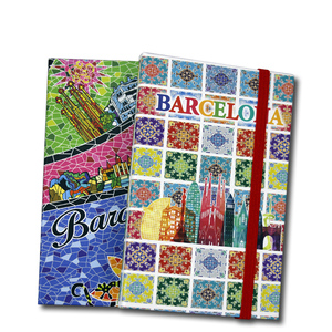 custom school suppliers OEM pu travel journal printing blank paper notebook