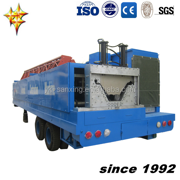 240 TRAILER ARCH STEEL BUILDING MACHINE