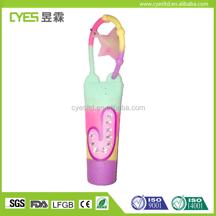 Wholesale Compliant Customized Cute 3D Cartoon Silicone Hand Sanitizer