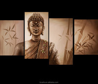 4 in one group home decoration wall paintings of buddha